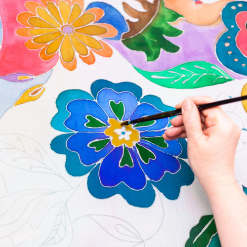 Book Fabric Painting Classes Online On Piggyride