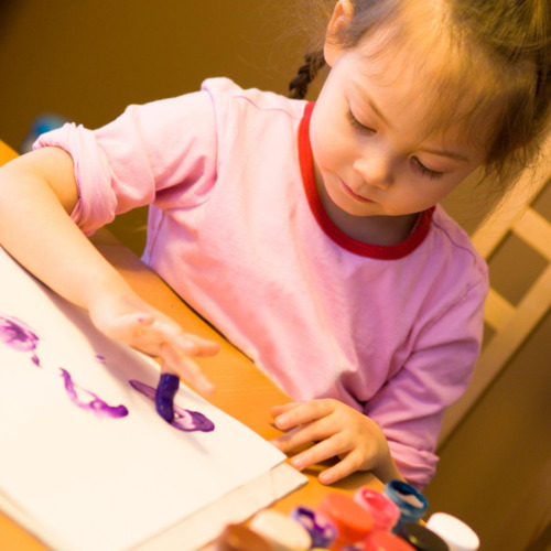 Finger painting Classes